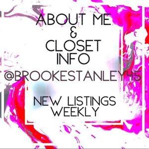 ⭐️ABOUT ME | MEET POSHER & CLOSET INFORMATION⭐️